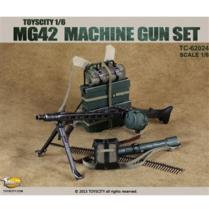 Rifle: Toys City 1/6 WWII MG42 Machine Gun (TCT-62024)