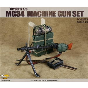 Rifle: Toys City 1/6 WWII MG34 Machine Gun (TCT-62023)