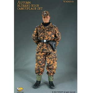 Uniform Set: Toys City Autumn Blurred Edge Camouflage Set (TCT-62025D)