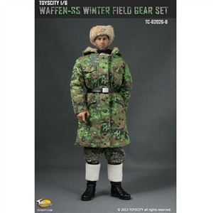 Uniform Set: Toys City Waffen-SS Winter Field Gear - Spring Oak-Leaf Camo (TCT-62026B)