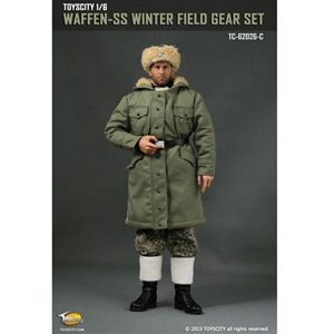 Uniform Set: Toys City Waffen-SS Winter Field Gear - Field Grey (TCT-62026C)