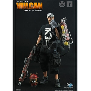 "Boxed Figure: The First Set of Dark Weekend ""Vulcan"" (TCT-M1001)"
