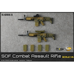 Rifle: Toys City SOF Combat Assault Rifle Set – Desert (TCT-62014A)