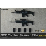 Rifle: Toys City SOF Combat Assault Rifle Set – Black (TCT-62014B)