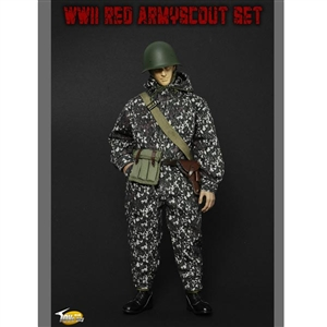 Uniform Set: Toys City 1/6 WWII Red Army Scout Set (68003)