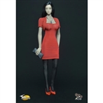 Outfit Set: Toys City Female Red Dress Set (TC-63001A)