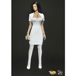 Outfit Set: Toys City Female White Dress Set (TC-63001B)