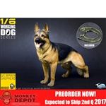 Dog: Toys City Working Dog Series - German Shepherd (TC-M9007)