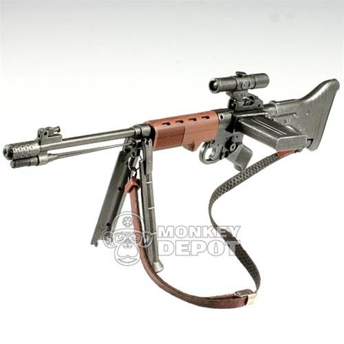 Rifle: Toys City German WWII FG42 First Model w/Scope