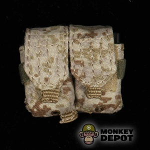 Pouch: Toys City 7.62mm Double MOLLE AOR Pattern