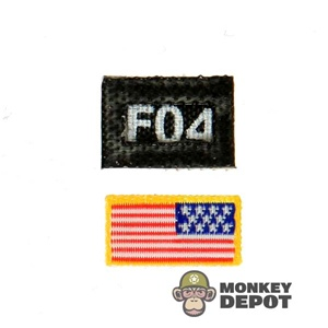 Insignia: Toys City Flag and Designator Velcro Backed