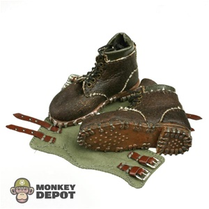 Boots: Toys City German WWII Mountain w/Gaiters