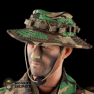 Hat: Toys City Boonie Woodland Camo