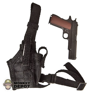 Pistol: Toys City 1911 .45 w/Drop Nylon Holster