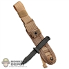 Knife: Combat w/MOLLE Sheath
