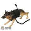 Figure: Toys City German Shepard w/Vest, Leash