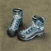 Boots: Toys City Combat Blue/Grey (No Ankle Balls)