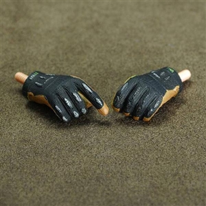 Hands: Toys City Gloved Black/Yellow