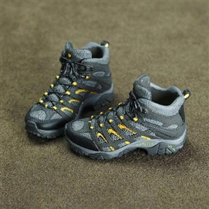 Boots: Toys City Combat Black/Grey (No Ankle Balls)