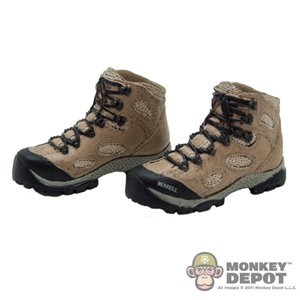Boots: Toys City Combat Tan (No Ankle Balls)
