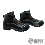 Boots: Toys City Combat Black/Gray (No Ankle Balls)