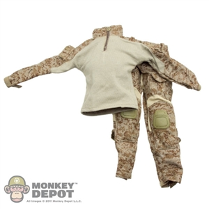 Uniform: Toys City Gen3 Combat Uniform Set Digi 2 Desert