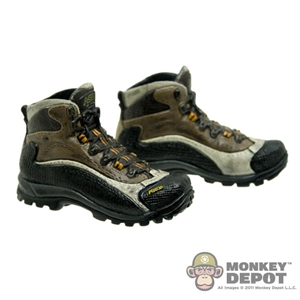Boots: Toys City Combat Black/Brown (No Ankle Balls)