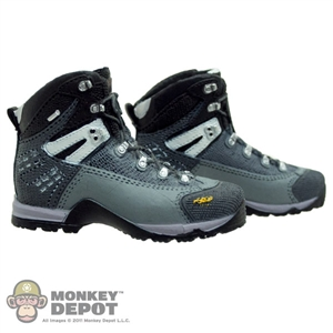 Boots: Toys City Combat Grey/Black (No Ankle Balls)