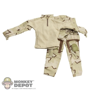 Uniform: Toys City Gen3 Combat Uniform Set 3-Color Sand