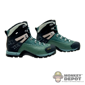 Boots: Toys City Combat Black/Green (No Ankle Balls)