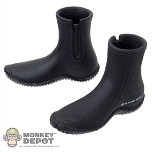 Boots: Toys City Black Diving Shoes