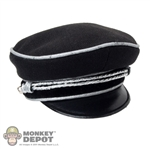 Hat: Toys City German WWII Allgemeine-SS General Officer's Visor Cap