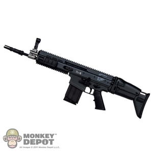 Rifle: Toys City Black MK17 MOD 0 CQC