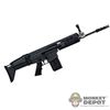 Rifle: Toys City Black MK17 MOD 0