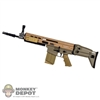 Rifle: Toys City Tan MK17 MOD 0