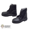 Boots: Toys City WWII German Leatherlike Ankle Boots