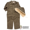 Uniform: Toys City German WWII Overalls w/Removable Cap