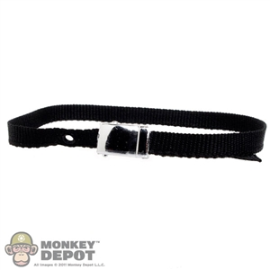 Belt: Toys Land Black Belt w/Buckle
