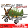 Model Kit: Tiger Models WWII Japanese Nakajima KI-84 Hayate (Egg Plane) (TIG-102)