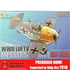 Model Kit: Tiger Models WWII Luftwaffe Messerschmitt Bf109 (Egg Plane) (TIG-103)