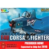 Model Kit: Tiger Models WWII U.S. Navy F4U Corsair Fighter Plane (Egg Plane) (TIG-101)
