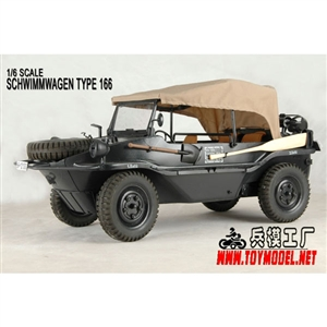 Toy Model 1/6 Schwimmwagen Type 166 (TML-003)