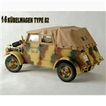 Boxed Vehicle: Boxed Vehicle: Toy Model 1/6 Kubelwagon (Camo)