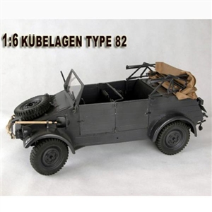 Boxed Vehicle: Boxed Vehicle: Toy Model 1/6 Kubelwagon (Gray)