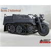 Boxed Vehicle: Toy Model 1/6 WWII German Sd.kfz.2 Kettenkrad Grey (TML-005G)