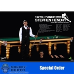 Boxed Figure: Toys Power Snooker Player (TP-CT008)