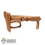 Belt: TS Toys Brown Belt w/Holster