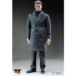Boxed Figure: TTL Toys Man In Suit (Long, Dark Grey) (TTL-68031)