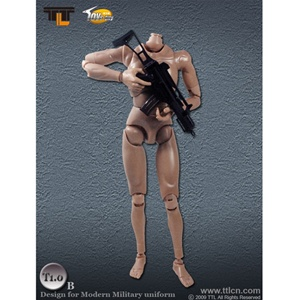 TTL Toys Action Figure Male, Tan (Modern) (TTL-T1.0B)
