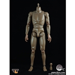 TTL Toys Action Figure Male,  Brown (Muscular) (TTL-T3.0C)